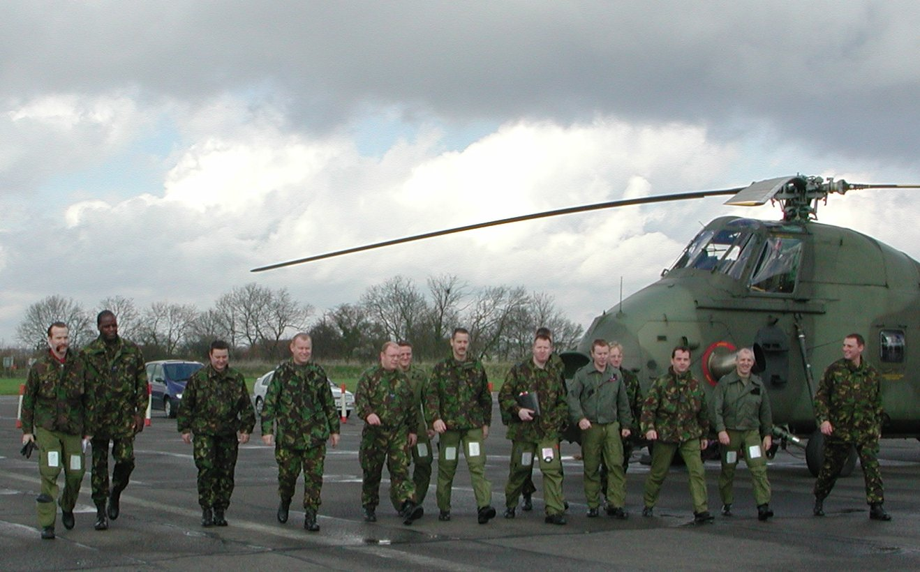 Members of 72 Squadron