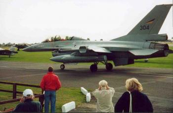 F16 leaves North Weald