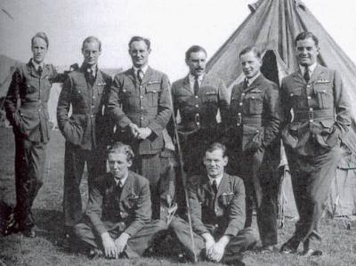 56 Squadron group including Montague Hulton-Harrop and Frank Rose
