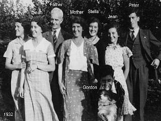The Robinson family before the war